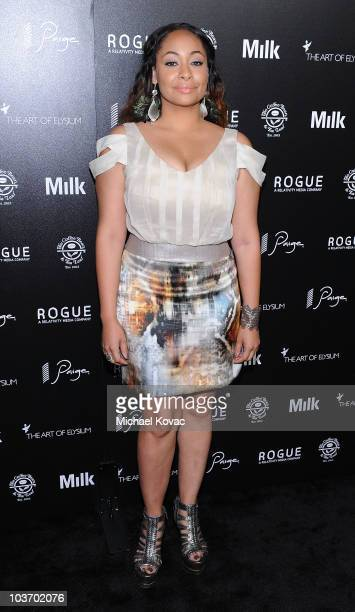 Actress Raven Symone arrives at The Art of Elysium's 2nd Annual Genesis Awards at Milk Studios on August 28, 2010 in Hollywood, California.