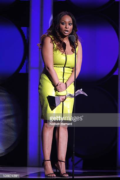 Actress Raven Symone attends the 5th Annual Black Girls Rock Awards at the Paradise Theater on October 16 2010 in the Bronx borough of New York City