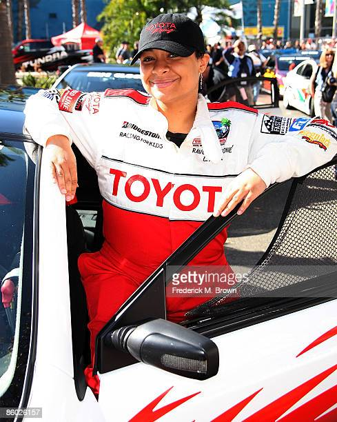 Actress Raven Symone attends the celebrity race at the Toyota Grand Prix of Long Beach on April 18 2009 in Long Beach California