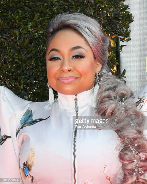 Actress RavenSymone attends the 45th Annual Daytime Creative Arts Emmy Awards at the Pasadena Civic Auditorium on April 27 2018 in Pasadena California