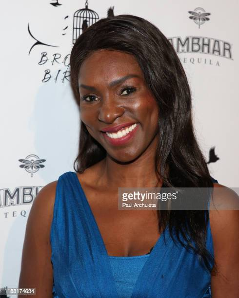 Actress Rayna Campbell attends the media night preview of BROKEN Code BIRD Switching at S Feury Theater on November 16 2019 in Los Angeles California