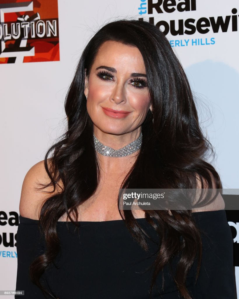 Actress / Reality TV Personality Kyle Richards attends 'The Real Housewives Of Beverly Hills' season 8 premiere party at The Doheny Room on December 15, 2017 in West Hollywood, California.