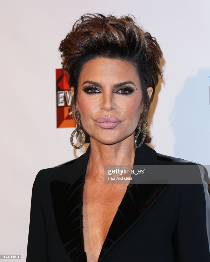 Actress / Reality TV Personality Lisa Rinna attends 'The Real Housewives Of Beverly Hills' season 8 premiere party at The Doheny Room on December 15, 2017 in West Hollywood, California.