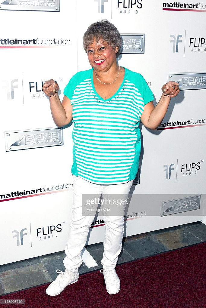 Actress Reatha Grey arrives at the Matt Leinart Foundation's 7th Annual 'Celebrity Bowl' at Lucky Strikes on July 18, 2013 in Hollywood, California.