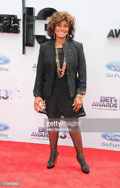 Actress Rebbie Jackson attends 2013 BET Awards - Arrivals at Nokia Plaza L.A. LIVE on June 30, 2013 in Los Angeles, California.