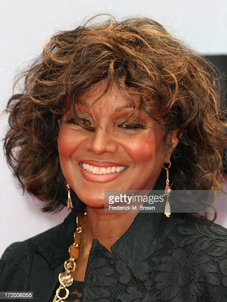 Actress Rebbie Jackson attends the 2013 BET Awards at Nokia Theatre L.A. Live on June 30, 2013 in Los Angeles, California.