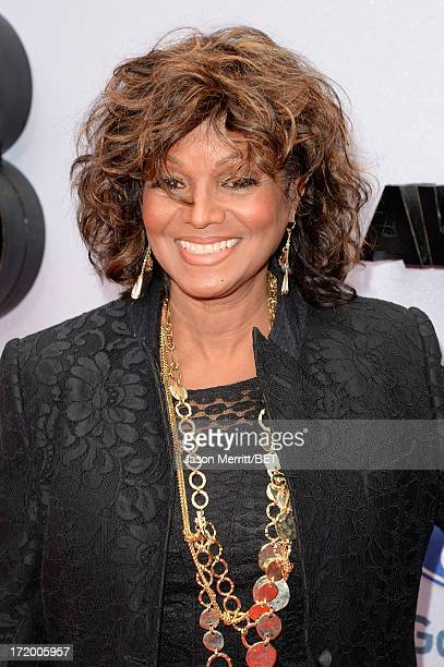 Actress Rebbie Jackson attends the Ford Red Carpet at the 2013 BET Awards at Nokia Theatre L.A. Live on June 30, 2013 in Los Angeles, California.