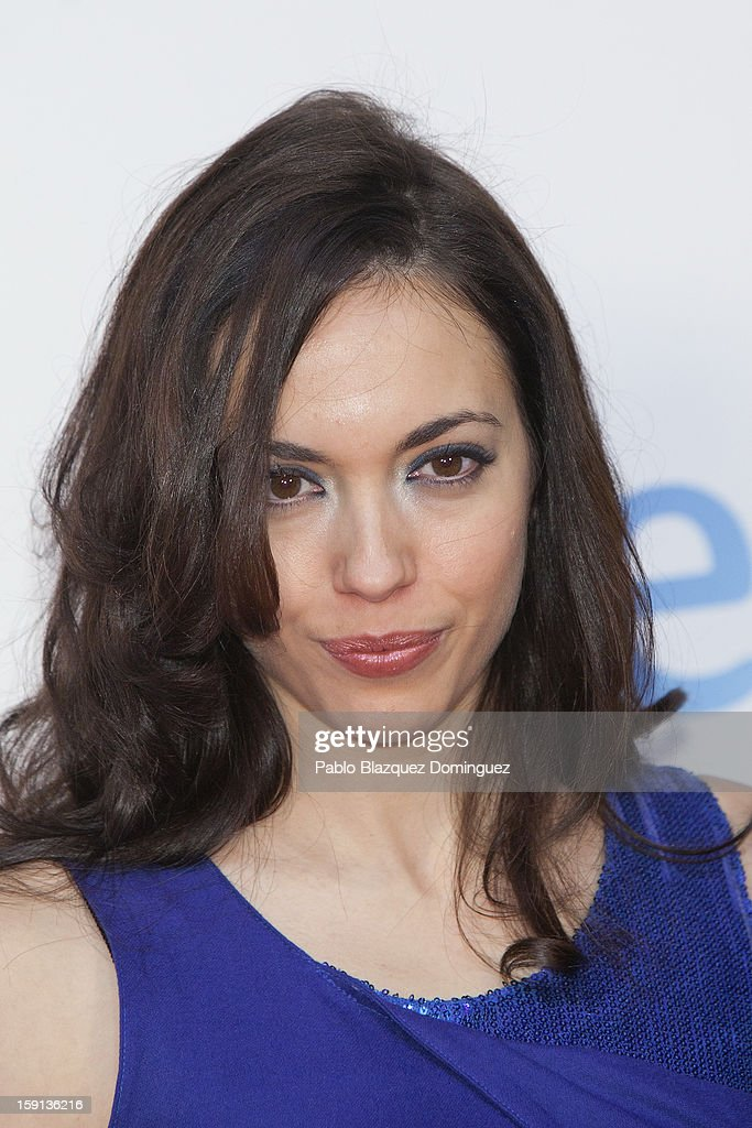 Actress Rebeca Cobos attends 'Cuentame Como Paso' 14th Season presentation at Capitol Cinema on January 8, 2013 in Madrid, Spain.