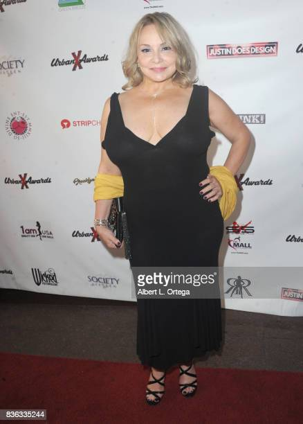 Actress Rebecca Bardot arrives for the 6th Urban X Awards held at Stars On Brand on August 20 2017 in Glendale California