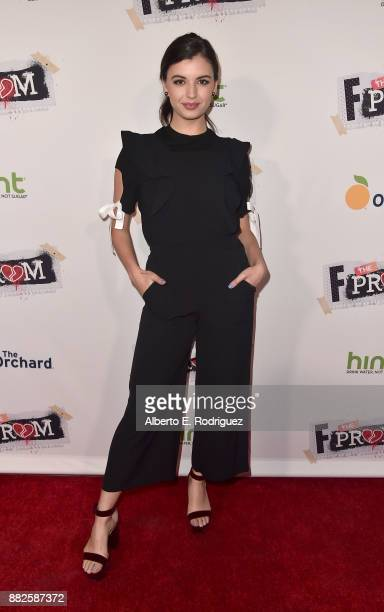 Actress Rebecca Black attends the premiere Of Orchard And Fine Brothers Entertainment's F*% The Prom at ArcLight Hollywood on November 29 2017 in...