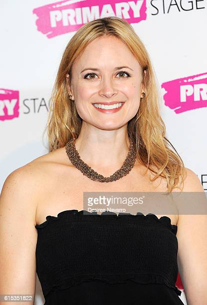Actress Rebecca Brooksher attends Primary Stages 2016 Gala at 538 Park Avenue on October 17 2016 in New York City