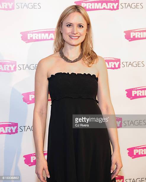 Actress Rebecca Brooksher attends the Primary Stages 2016 Gala at 538 Park Avenue on October 17 2016 in New York City