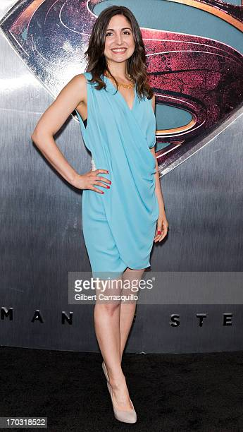Actress Rebecca Buller attends Man Of Steel World Premiere at Alice Tully Hall at Lincoln Center on June 10 2013 in New York City