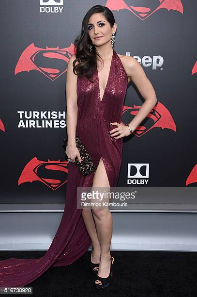 Actress Rebecca Buller attends the Batman V Superman Dawn Of Justice New York Premiere at Radio City Music Hall on March 20 2016 in New York City