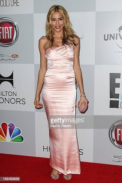 Actress Rebecca Da Costa arrives at NBC Universal's 70th Annual Golden Globe Awards after party held at the Beverly Hilton Hotel on January 13 2013...