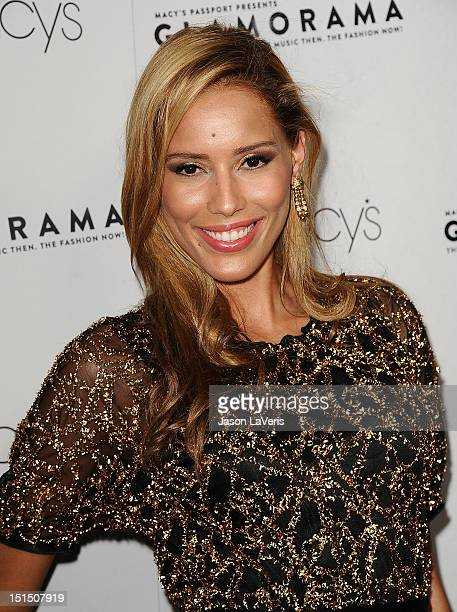 Actress Rebecca Da Costa attends Macy's Passport presents Glamorama 2012 The British Invasion The Music Then The Fashion Now at the Orpheum Theatre...