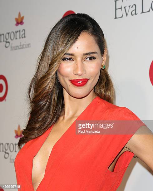 Actress Rebecca Da Costa attends The Eva Longoria Foundation annual dinner at Beso on November 5 2015 in Hollywood California