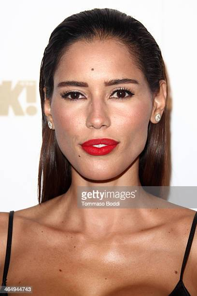 Actress Rebecca Da Costa attends the OK Magazine preGrammy party held at Lure on January 24 2014 in Hollywood California