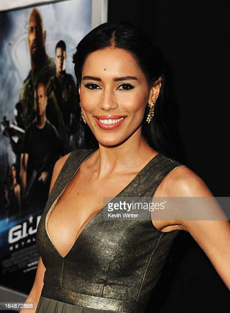 Actress Rebecca Da Costa attends the premiere of Paramount Pictures' GI JoeRetaliation at TCL Chinese Theatre on March 28 2013 in Hollywood California