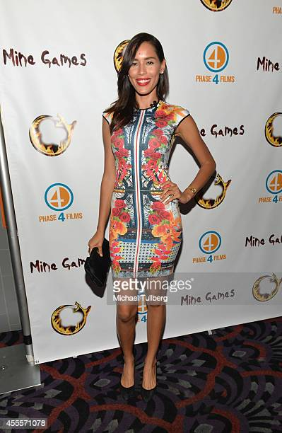 Actress Rebecca Da Costa attends the premiere of the film Mine Games at Los Feliz 3 Cinemas on September 16 2014 in Los Angeles California