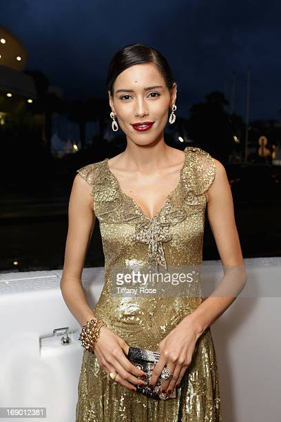 Actress Rebecca Da Costa attends the Zero Theorem Party Hosted by Terry Gilliam The 66th Annual Cannes Film Festival at Torch at Vegaluna Beach Club...