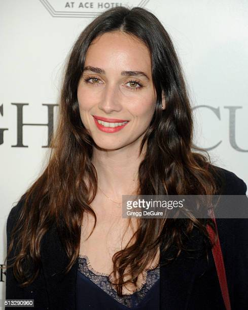 Actress Rebecca Dayan arrives at the premiere of Broad Green Pictures' Knight Of Cups on March 1 2016 in Los Angeles California