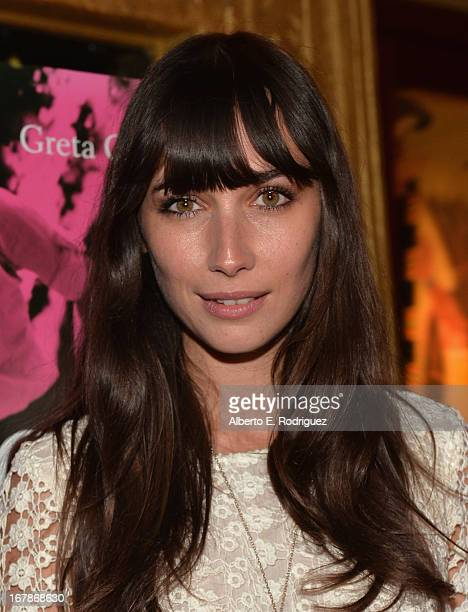 Actress Rebecca Dayan attends a screening of IFC Films' Frances Ha at the Vista Theatre on May 1 2013 in Los Angeles California