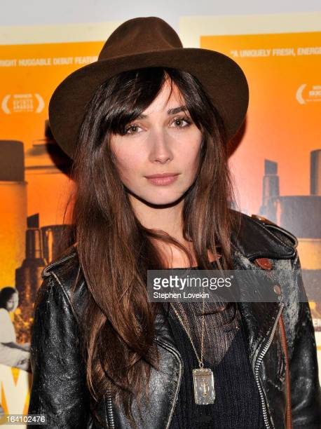 Actress Rebecca Dayan attends the 'Gimme The Loot' New York Premiere at MOMA on March 19 2013 in New York City