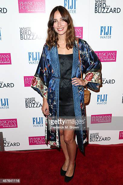 Actress Rebecca Dayan attends the Premiere of Magnolia Pictures' White Bird in a Blizzard at the ArcLight Hollywood on October 21 2014 in Hollywood...