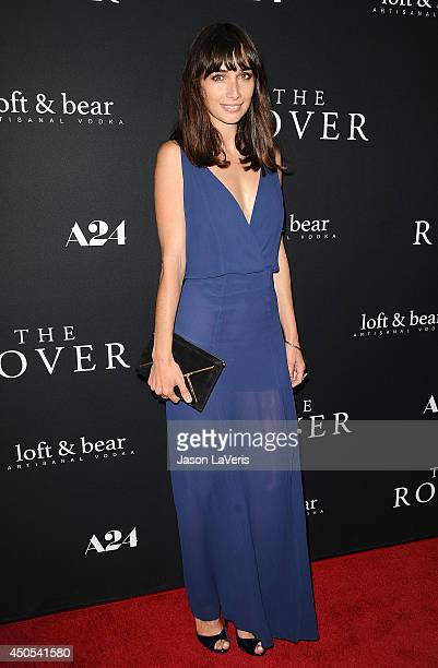 Actress Rebecca Dayan attends the premiere of The Rover at Regency Bruin Theatre on June 12 2014 in Los Angeles California
