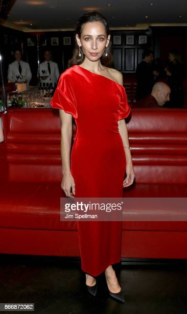 Actress Rebecca Dayan attends the screening after party for Sony Pictures Classics' Novitiate hosted by Miu Miu and The Cinema Society at The Lambs...