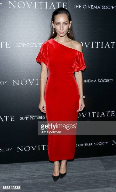 Actress Rebecca Dayan attends the screening of Sony Pictures Classics' Novitiate hosted by Miu Miu and The Cinema Society at The Landmark at 57 West...