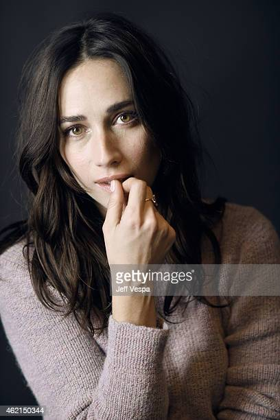 Actress Rebecca Dayan of H poses for a portrait at the Village at the Lift Presented by McDonald's McCafe during the 2015 Sundance Film Festival on...