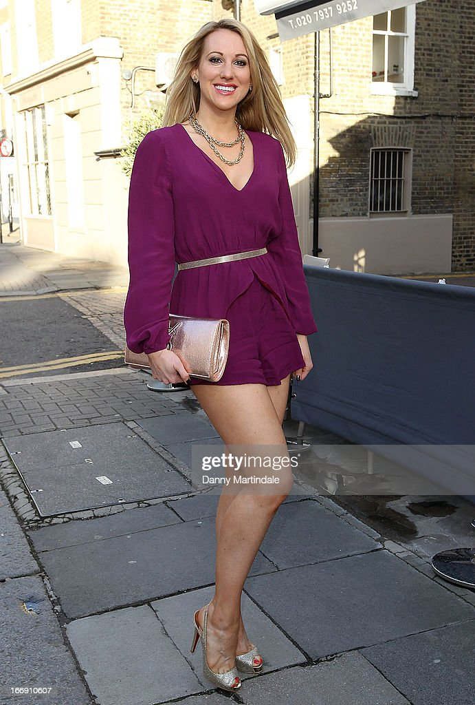 Actress Rebecca Ferdinando attends the anniversary party of Tatiana hair extensions on April 18, 2013 in London, England.