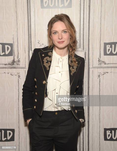 Actress Rebecca Ferguson attends Build Series at Build Studio on March 20 2017 in New York City