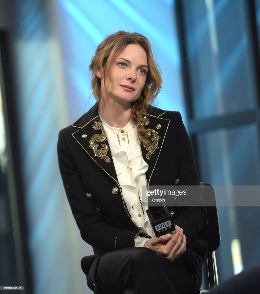 Actress Rebecca Ferguson attends Build Series at Build Studio on March 20, 2017 in New York City.