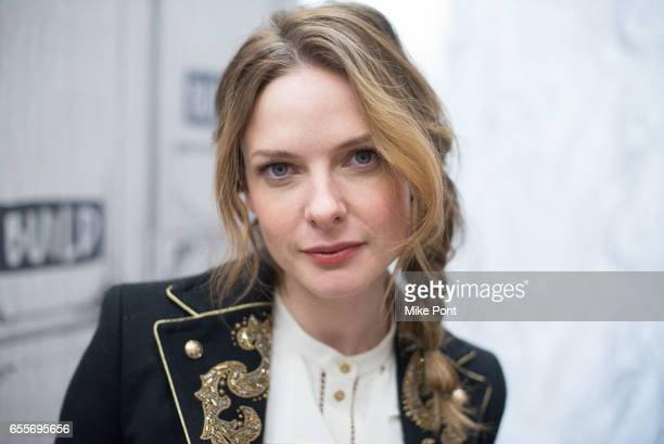 Actress Rebecca Ferguson attends Build Series to discuss Life at Build Studio on March 20 2017 in New York City