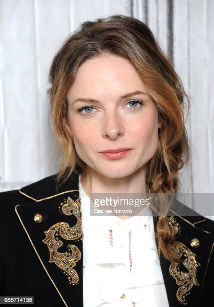 Actress Rebecca Ferguson attends Build Series to discuss 'Life' at Build Studio on March 20, 2017 in New York City.