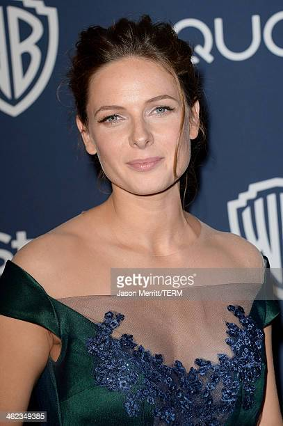 Actress Rebecca Ferguson attends the 2014 InStyle and Warner Bros 71st Annual Golden Globe Awards PostParty on January 12 2014 in Beverly Hills...