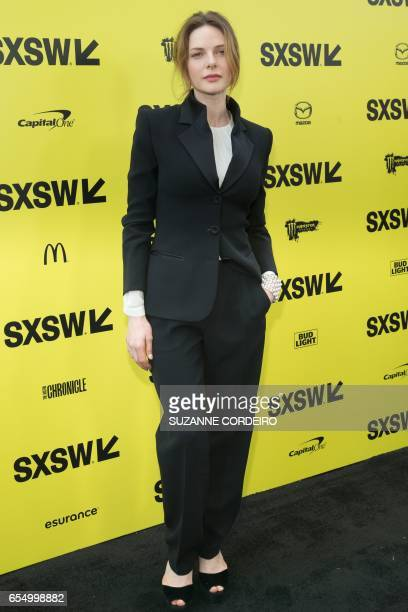 Actress Rebecca Ferguson attends the 'Life' premiere during 2017 SXSW Conference and Festivals at the ZACH Theatre on March 18 2017 in Austin Texas /...