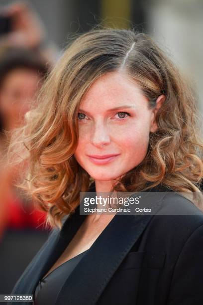 Actress Rebecca Ferguson attends the 'Mission Impossible Fallout' Global Premiere in Paris on July 12 2018 in Paris France