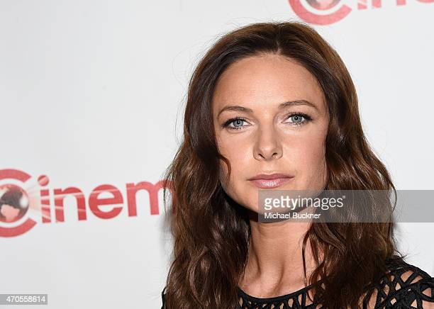 Actress Rebecca Ferguson attends The State of the Industry Past Present and Future and Paramount Pictures Presentation at The Colosseum at Caesars...