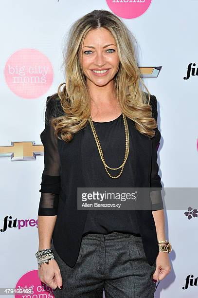 Actress Rebecca Gayheart attends Big City Moms 'The Biggest Baby Shower Ever' event at Skirball Cultural Center on March 18 2014 in Los Angeles...