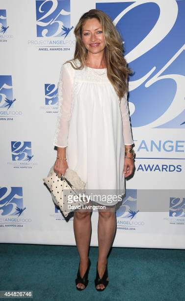 Actress Rebecca Gayheart attends the 2014 Angel Awards at Project Angel Food on September 6 2014 in Los Angeles California