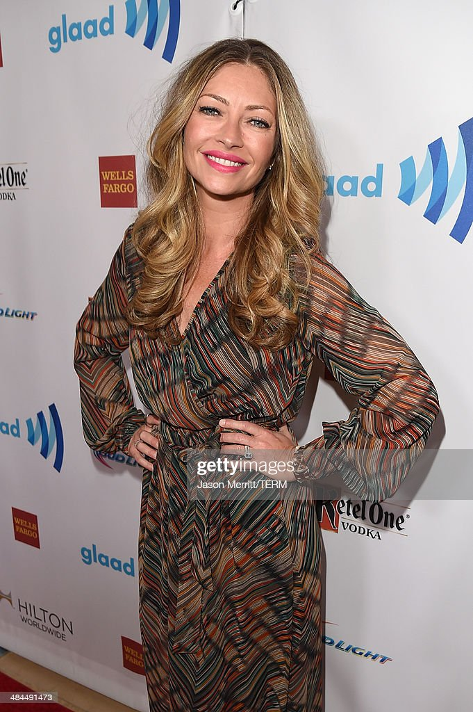 Actress Rebecca Gayheart attends the 25th Annual GLAAD Media Awards at The Beverly Hilton Hotel on April 12, 2014 in Los Angeles, California.