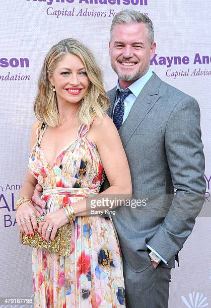 Actress Rebecca GayheartDane and actor Eric Dane attend the 14th annual Chrysalis Butterfly Ball sponsored by Audi Kayne Anderson Lauren B Beauty and...