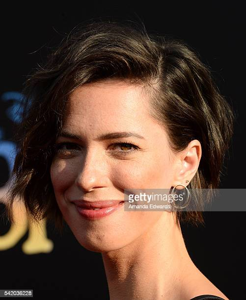 Actress Rebecca Hall arrives at the premiere of Disney's The BFG at the El Capitan Theatre on June 21 2016 in Hollywood California