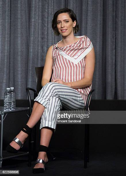 Actress Rebecca Hall attends a career retrospective for SAGAFTRA Foundation Conversations at SAG Foundation Actors Center on November 11 2016 in Los...