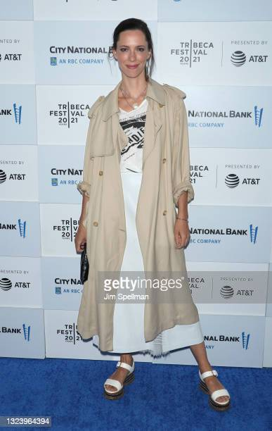 """Actress Rebecca Hall attends """"Blondie: Vivir En La Habana"""" during the 2021 Tribeca Festival at The Battery on June 16, 2021 in New York City."""