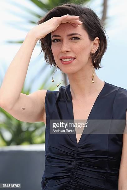 Actress Rebecca Hall attends 'The BFG ' photocall during the 69th annual Cannes Film Festival at the Palais des Festivals on May 14 2016 in Cannes...